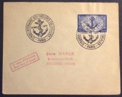 4- Lettre 889 Troupes Coloniales Cinquantenaire FDC Paris Premier Jour 12/5/1951 - Postmark Collection (Covers)