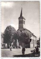 Carte Postale 25.  Audincourt  Le Temple Et Le Monument Trés Beau Plan - Non Classés