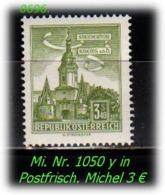 Österreich - Mi. Nr: 1050 Y - In Postfrisch - 1945-60 Unused Stamps