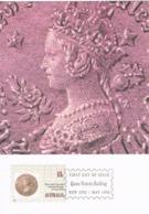 34273. Tarjeta Maxima QUEEN VICTORIA BUILDING (Australia)  1990. Stamps To Stamps - Sellos Sobre Sellos