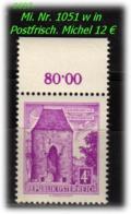 Österreich - Mi. Nr: 1051 W - In Postfrisch - 1945-60 Unused Stamps