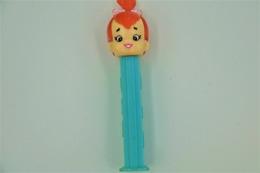 Vintage PEZ DISPENSER : PEBBLES - HBPI The Flintstones - 1992- Us Patent Austria Made L=11cm - Figurines