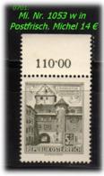 Österreich - Mi. Nr: 1053 W - In Postfrisch - 1945-60 Unused Stamps