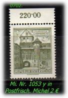 Österreich - Mi. Nr: 1053 Y - In Postfrisch - 1945-60 Unused Stamps