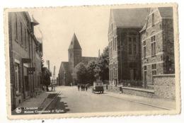S7844 - Libramont - Maison Communale Et Eglise - Libramont-Chevigny