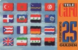 HOLANDA (PREPAGO). Flags. 25G. 03-02. NL-PRE-ETT-0014K. (017) - Nederland