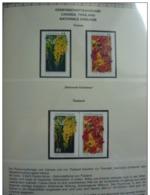 Emissioni Congiunte CANADA 2003, Joint Issue Thailand 2v [:] 2 Serie Cpl. 4v. Nuovi** - Gemeinschaftsausgaben