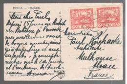 23580 -  2 TP  Non Dentelés De FALKANAU - 1919-1939 Republic