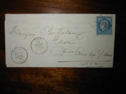 Lettre GC 3092 Rebais Seine Et Marne Avec Correspondance - 1849-1876: Classic Period