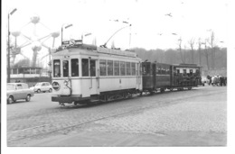 Bruxelles - Tram Lijn Schepdaal. (Foto 14 X 9 Cm) - Transporte Público