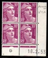 Coin Daté Gandon N° 811 Du 16/2/1953 ** - 1950-1959