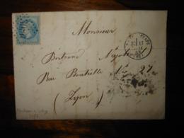 Lettre GC 3086 Raon L'Etape Vosges Avec Correspondance - 1849-1876: Classic Period