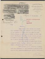 Belgique - Facture Illustrée De Soignies (1920) : Tanneries Gerard & Cie / écrite. - Belgium