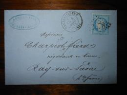 Lettre GC 3078 Rambervillers Vosges Avec Correspondance - 1849-1876: Classic Period
