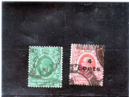 B - 1912/21  East Africa E Uganda - King George V - Protectorados De África Oriental Y Uganda