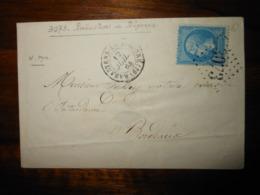 Enveloppe GC 3073 Rabastens De Bigorre Hautes Pyrenées - 1849-1876: Classic Period