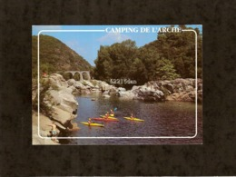 CP . 30 . ANDUZE . LE CAMPING DE L'ARCHE . LA PISCINE NATURELLE . CANOE CAYAK - Anduze