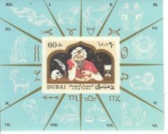 DUBAI 1967 - OROSCOPO SEGNI ZODIACALI   - FGL MNH ** - Dubai