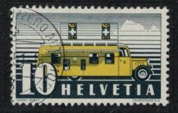 Suisse // Schweiz // Switzerland //  1940-1949 // Bureau De Poste Automobile  1946 No.276 Oblitéré - Usados