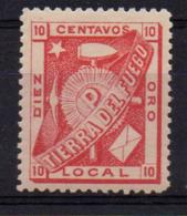 ARGENTINA : B079  -  TIERRA DEL FUEGO : Rare Local Issue - Mint Very Fine - Sin Clasificación