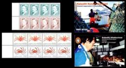 GREENLAND GRÖNLAND GRONLAND 1993 MI S3 BOOKLET Königin Margrethe II Und Krabben QUEEN & CRABS REINE CRABES SLANIA - Meereswelt