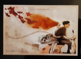 Silverini Motorbike Carte Postale - Pubblicitari