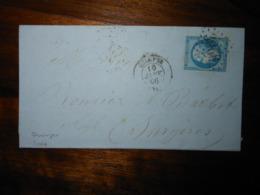 Lettre GC 3066 Quimper Finistere Avec Correspondance - 1849-1876: Classic Period