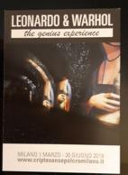 Leonardo & Warhol Carte Postale - Pubblicitari
