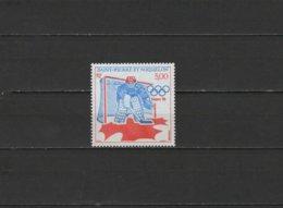 SPM St. Pierre Et Miquelon 1988 Olympic Games Calgary Stamp MNH - Winter 1988: Calgary
