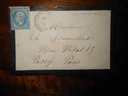Enveloppe GC 3053 Les Quatre Chemins De L'Oie Vendée - 1849-1876: Classic Period