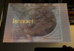 Interact 3D Holografich Carte Postale - Pubblicitari