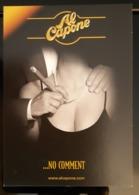 Al Capone Smoke Carte Postale - Pubblicitari