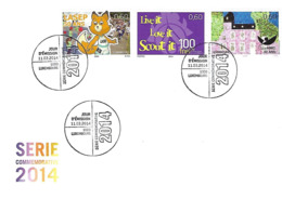 Luxembourg  -  FDC  11.3.2014  Série Commémorative  2014 - FDC