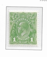 1931 MNH Australia Wmk CofA MIchel 98 - Mint Stamps