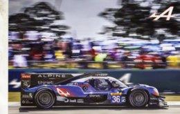 24 Heures Du Mans 2019  -  Alpine Matmut - Pilotes: Lapierre/Negrao/Thiriet  - Carte Promo/Postale 15x10cms - Le Mans