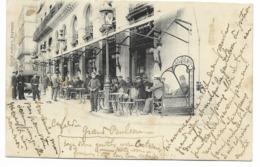 64-BAYONNE-Café Du GRAND BALCON (sans Légende) ...  Animé - Bayonne