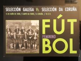 Futbol Feminino Carte Postale - Pubblicitari