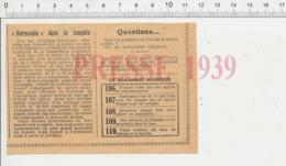 Presse 1939 Le Paquebot Normandie Dans La Tempête 226MG - Vecchi Documenti