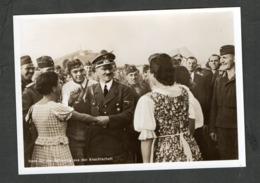Photo Hoffmann Nr P 15,  Polenfeldzug, 01.09.1939 Kanzler Auf Einem Feldflugplatz - Briefe U. Dokumente