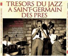 CD N°2412 - TRESORS DU JAZZ A SAINT-GERMAIN DES PRES - COMPILATION 4 CD 68 TITRES + COFFRET - Jazz
