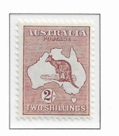 1931 MNH Australia  WMK CofA MIchel  107 - Mint Stamps