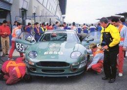 24 Heures Du Mans 1995  - Aston Martin DB7 LM   - Carte Postale - Le Mans