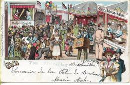 BISCHWILLER Souvenir De La Fête 18 -8-1904 - Bischwiller