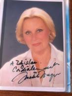 Michele Morgan Actress Photo Autograph Hand Signed 10x15 Cm - Fotos Dedicadas