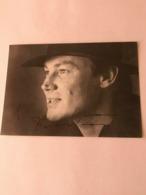 Maximilian Schell Photo Autograph Hand Signed 10x15 Cm - Dédicacées