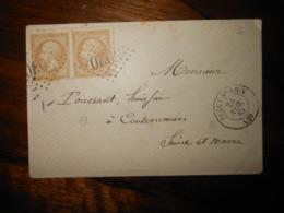 Enveloppe GC 3020 Precy Sous Thil Cote D'Or - 1849-1876: Classic Period