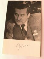 Lech Walesa President Of Poland Nobel Activist Photo Autograph Hand Signed 10x15 - Dédicacées