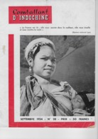 Combattant D' Indochine N° 28 - Septembre 1954 - Books, Magazines, Comics