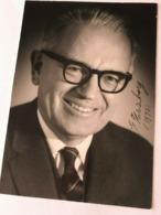 Gerhard Herzberg Physicist Chemist Nobel Prize Photo Autograph Hand Signed 10x15 - Fotos Dedicadas