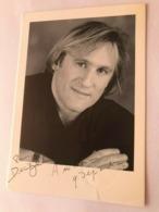 Gerard Depardieu Actor Photo Autograph Hand Signed 10x15 Cm - Dédicacées